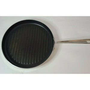 All-Clad 12 Inch Skillet Grill Pan Stainless Steel